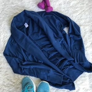 Old Navy Active Blue Cardigan Size M